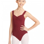 Burgundy Leotard